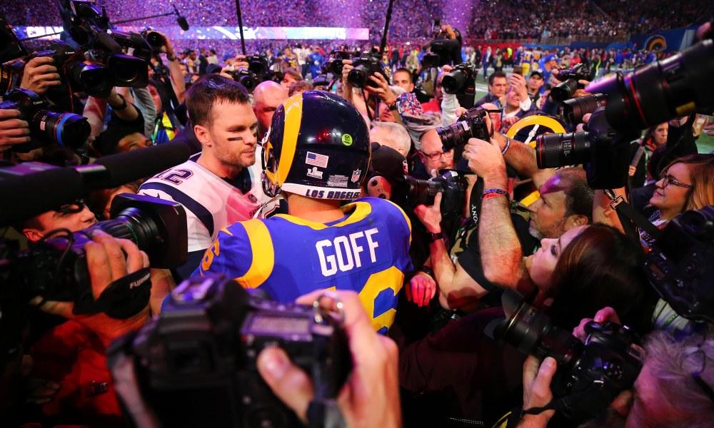 USP NFL: SUPER BOWL LIII-NEW ENGLAND PATRIOTS VS L S FBN USA GA